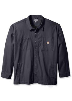 Carhartt Men's Big & Tall Rugged Flex Rigby Shirt Jacket  4X-Large