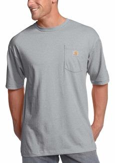 Carhartt Men's Big K87 Workwear Pocket Short Sleeve T-Shirt (Regular and Big & Tall Sizes)  3X-Large/Tall