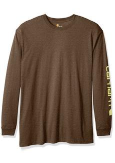 Carhartt Men's Big Signature Logo Long Sleeve T-Shirt