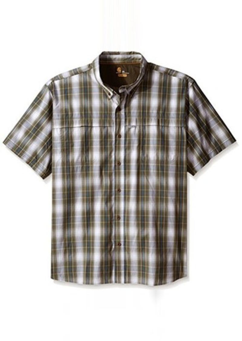 Carhartt carhartt men 39 s big tall big and tall force mandan for Mens tall button down shirts