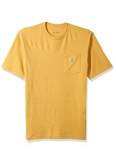 Carhartt Men's Big Workwear Pocket Short-Sleeve T-Shirt Gold Heather Large/Tall