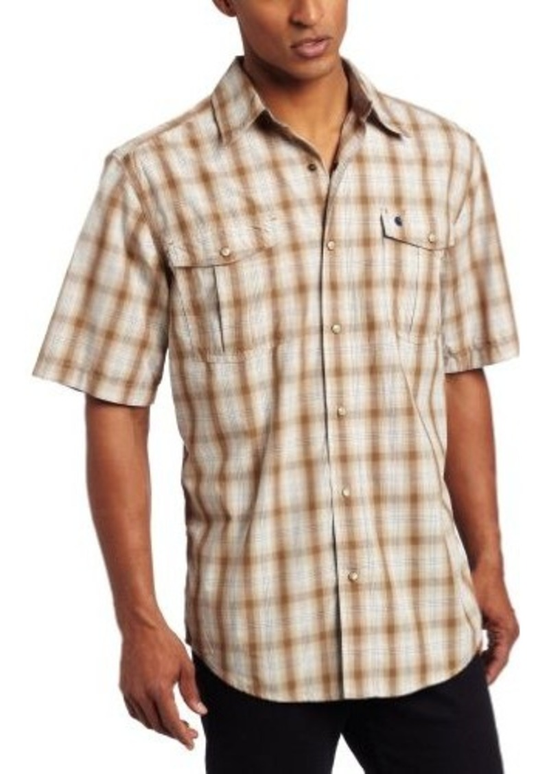 Carhartt Carhartt Men 39 S Bozeman Short Sleeve Shirt Snap