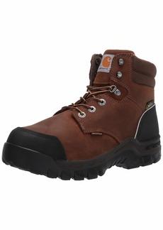 """Carhartt Men's CMF6720 Waterproof Met Guard 6"""" Comp Toe Boot Industrial   Wide"""