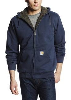Carhartt Men's Collinston Brushed Fleece Sherpa Lined Sweatshirt