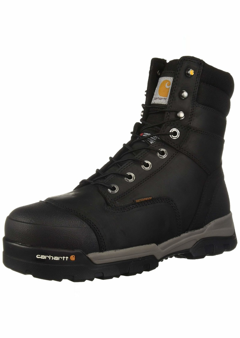 Carhartt Men's CSA 8-inch Ground Force Wtrprf Insulated Work Boot Comp Safety Toe CMR8959 Industrial  10 W US