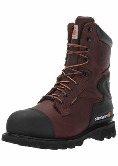 Carhartt Men's CSA 8-inch Wtrprf Insulated Work Boot Steel Safety Toe CMR8859 Industrial   US