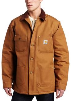 Carhartt Men's Big & Tall Duck Chore Coat Blanket Lined