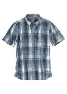 Carhartt Men's Essential Plaid Button Down SS Shirt