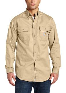 Carhartt Men's Flame Resistant Classic Twill Shirt
