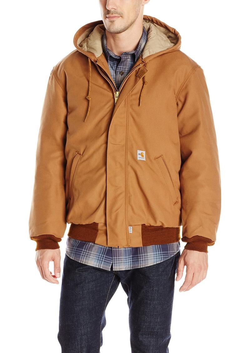 Carhartt Men's Flame Resistant Duck Active Jacket Brown