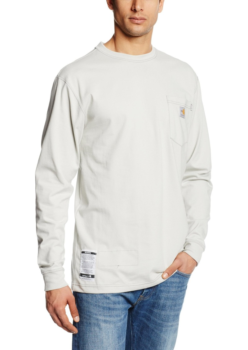 9bd72e5409f6 Carhartt Carhartt Men s Flame Resistant Force Cotton Long Sleeve T ...