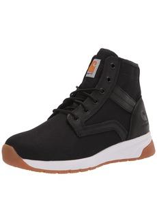 "Carhartt Men's Force 5"" Lightweight Sneaker Boot Soft Toe Ankle BLACK TEXTILE"
