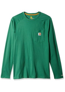 Carhartt Men's Force Cotton Delmont Long Sleeve T-Shirt  2X-Large