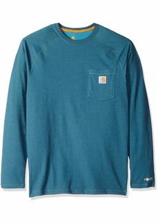 Carhartt Men's Force Cotton Delmont Long Sleeve T Shirt