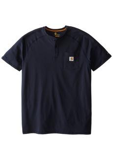 Carhartt Men's Force Delmont Short Sleeve Henley T-Shirt (Regular and Big & Tall Sizes)  3X-Large