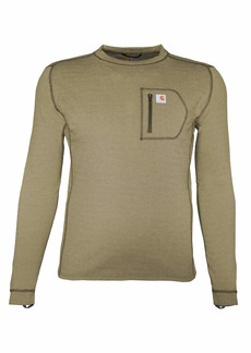 Carhartt Men's Force Heavyweight Thermal Base Layer Long Sleeve Pocket Shirt