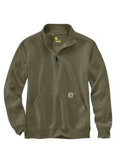 Carhartt Men's Force Relaxed Fit Midweight 1/4 Zip Pocket Sweatshirt