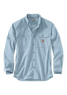 Carhartt Men's Force Ridgefield Solid LS Shirt