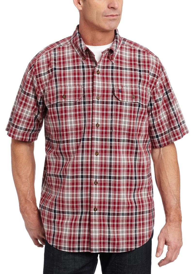 Carhartt Carhartt Men 39 S Fort Plaid Short Sleeve Shirt