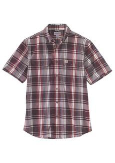 Carhartt Men's Fort Plaid SS Shirt