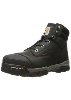 Carhartt Men's Ground Force 6-Inch Black Waterproof Work Boot - Composite Toe   14M US - CME6351