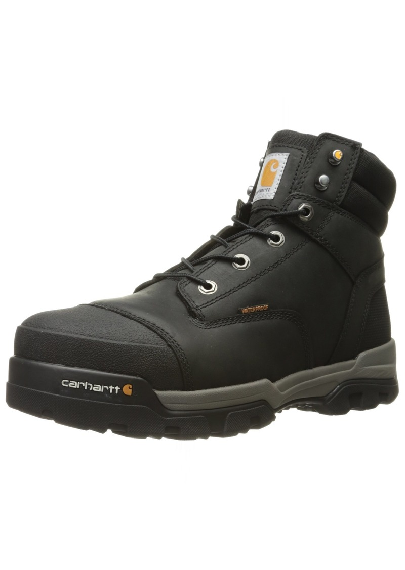 Carhartt Men's Ground Force 6-Inch Black Waterproof Work Boot - Composite Toe   14M US - CME6351