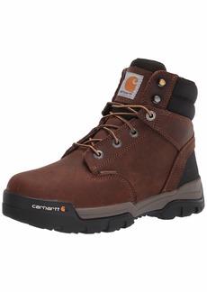 "Carhartt Men's Ground Force 6"" Waterproof Comp Toe Boot CME6347 Construction Bison Brown Oil TAN"