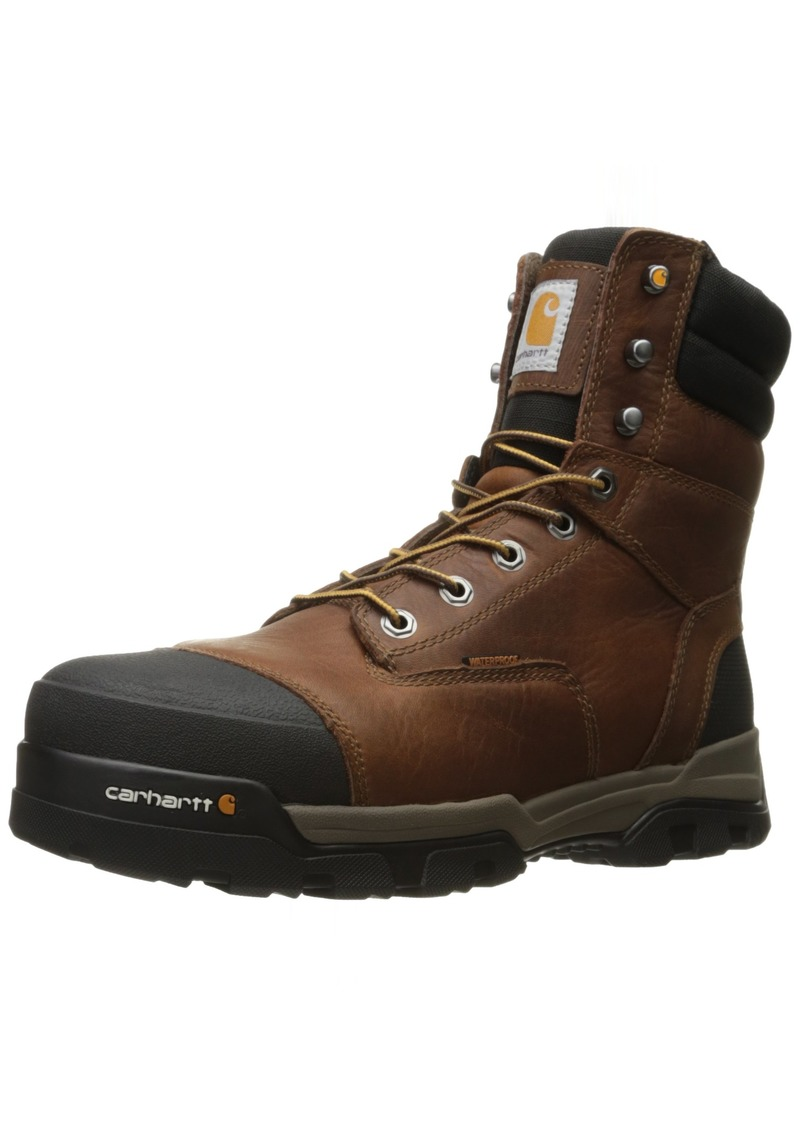 Carhartt Men's Ground Force 6-Inch Brown Waterproof Work Boot - Composite Toe     - New For 2017 - CME8355