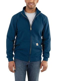Carhartt Men's Haughton Midweight Mock-Neck Zip Sweatshirt