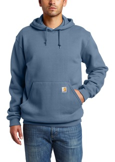 Carhartt Men's Heavyweight Sweatshirt Hooded Pullover Original FitMineral Blue  (Closeout)