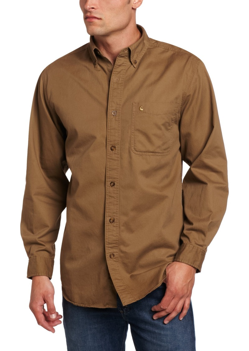 Enjoy the comfort of flannel with the simplicity of this solid color long sleeve flannel shirt for a more professional look. Made of midweight, oz; 80% cotton, 20% polyester this ultra soft shirt will feature two chest pockets with button-down flaps, adjustable cuffs, half .
