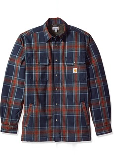 Carhartt Men's Hubbard Sherpa Lined Shirt Jacket  2X-Large