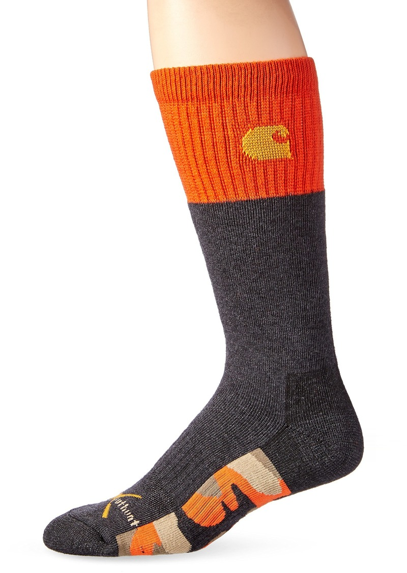 Carhartt Men's Legacy Hunt Socks orange Shoe Size: 6-12