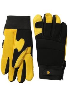 Carhartt Men's Lined Deerskin Work Glove with Neoprene Knuckle Protection