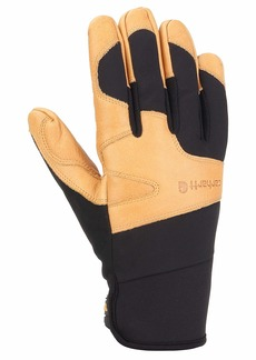 Carhartt Men's Lined Dex Cow Grain Glove black/Brown