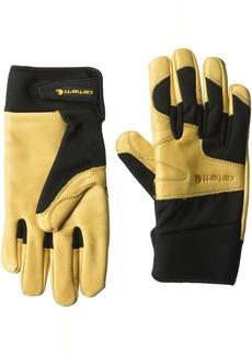 Carhartt Men's Lined Dex Cow Grain Glove black/Brown XX-Large