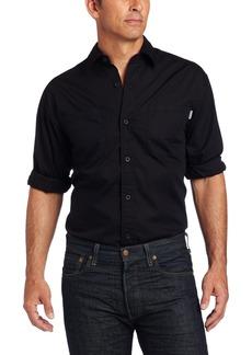 Carhartt Men's Long Sleeve Lightweight Woven ShirtBlack  (Closeout)