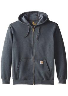 Carhartt Men's Midweight Sweatshirt Hooded Zip Front Original Fit K122