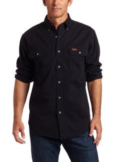 Carhartt Men's Oakman Sandstone Twill Original-Fit Work Shirt  Regular XX Large