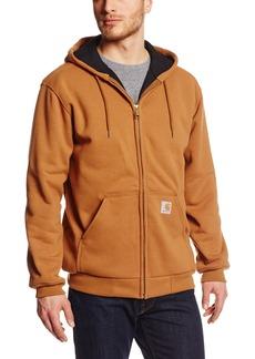 Carhartt Men's Rain Defender Rutland Thermal Lined Hooded Zip Front Sweatshirt 100632