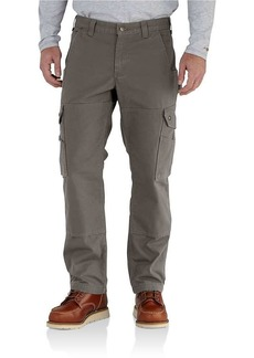 Carhartt Men's Ripstop Cargo work Flannel Lined Pant