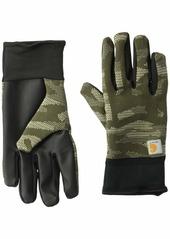 Carhartt Men's Roboknit Glove fatigue camo L