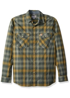 Carhartt Men's Rugged Flex Bozeman Long Sleeve Shirt elm