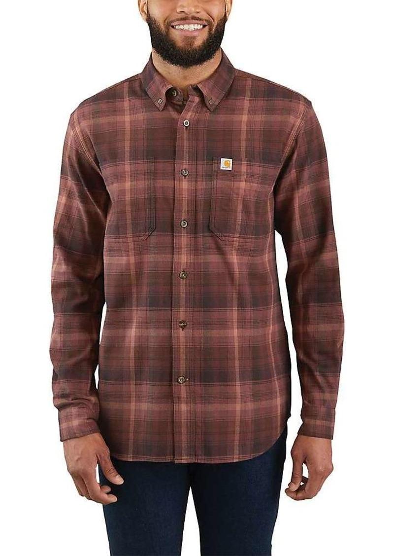 Carhartt Men's Rugged Flex Hamilton Plaid LS Shirt