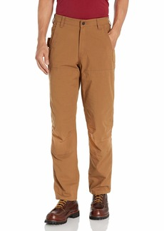 Carhartt Men's Rugged Flex Steel Relaxed Fit Double-Front Pant Brown 32 x 32