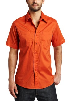 Carhartt Men's Short Sleeve Lightweight Cotton ShirtHarvest Orange  (Closeout)