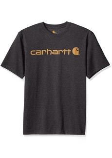 Carhartt Men's Signature Logo Short Sleeve T-Shirt