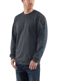 Carhartt Men's Signature Sleeve Long Sleeve T-Shirt