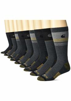 Carhartt Men's Stripe Crew Socks  Shoe Size: 6-12