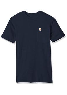 Carhartt Men's Tall Size Maddock Pocket Short Sleeve T-Shirt  3XL